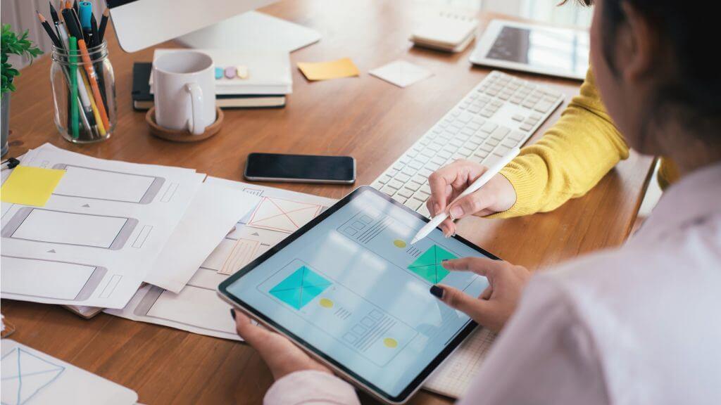 Optimierung Karriere-Website mobile Ansicht