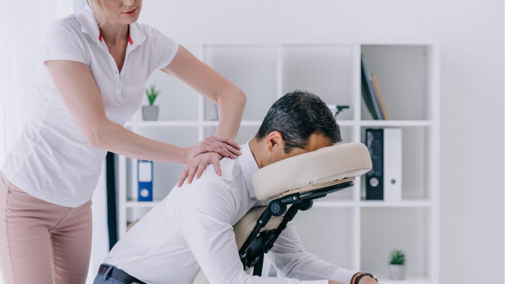 Massagen im Büro