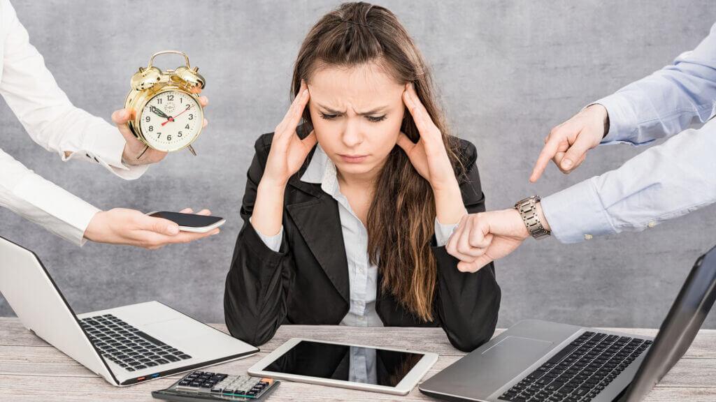 fehlende Work-Life-Balance