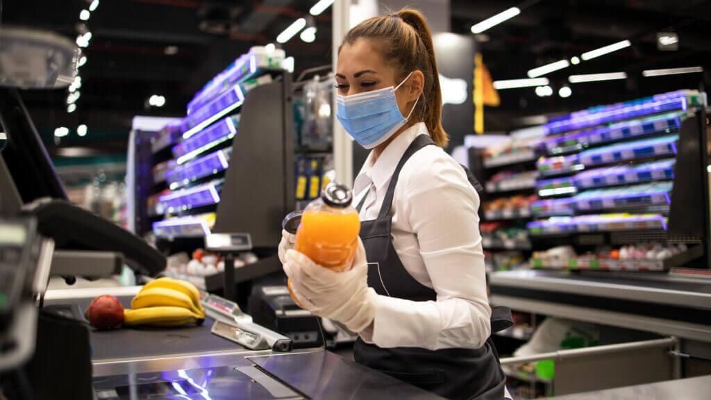 Lebensmittelhandel Corona-Krise