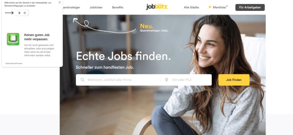 Jobblitz Web Push
