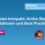 Webinar Active Sourcing mit Lisa Schmidt