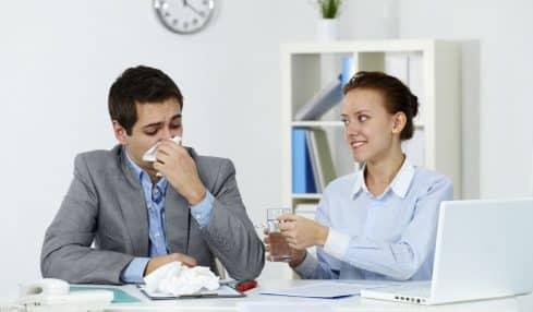 Hygiene-Manieren im Job