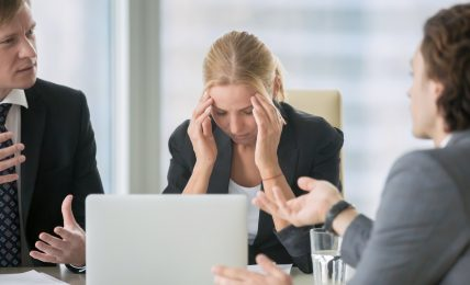 Negatives Büroklima steckt an