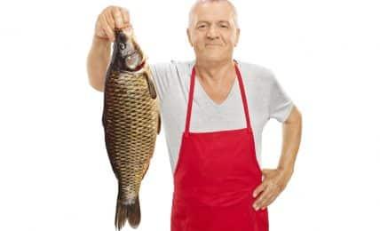 Marktschreier auf dem Hamburger Fischmarkt