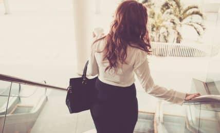 Bewerbungsgespräch: Tasche packen