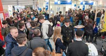 Viele Besucher erwartet die Karrieremesse jedes Jahr.