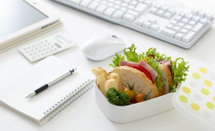 Office Food: Mahlzeit in der Arbeit