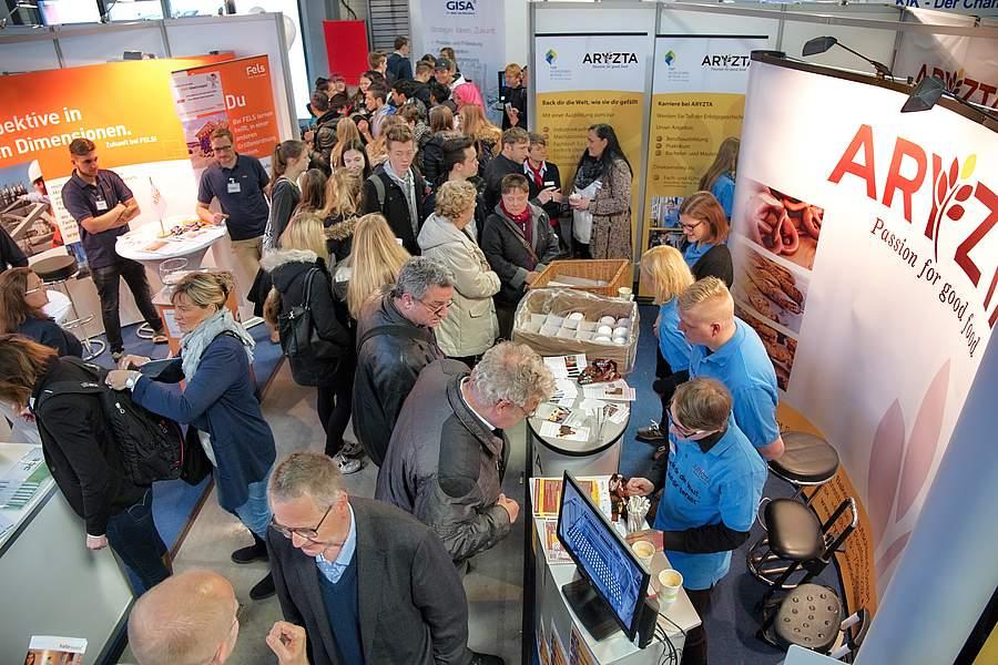 Messe Chance 2018 in Halle: Arbeitgeber aus der Region