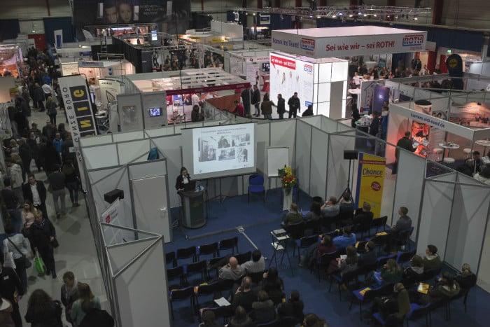 Karrieremesse: Chance in Gießen - Ausstellungsfläche