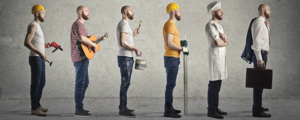 Frühere Jobwechsel begründen