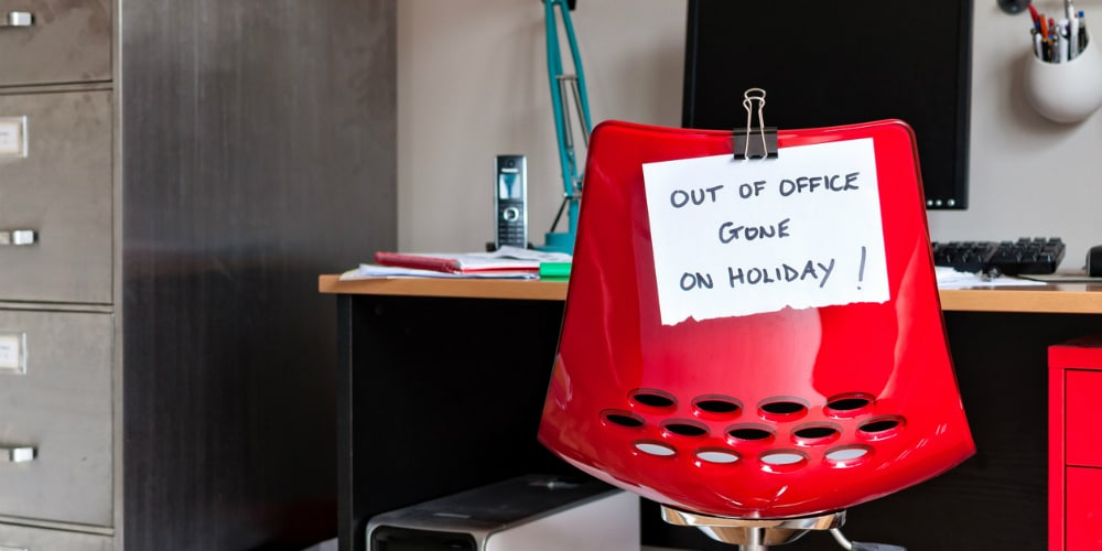 Abwesenheitsnotiz: Out of office