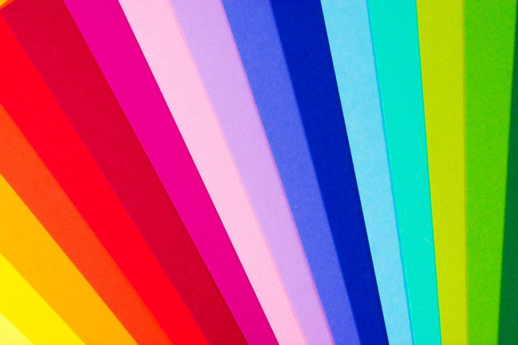 Auch mit der Wahl der Farbe kannst du Akzente setzen