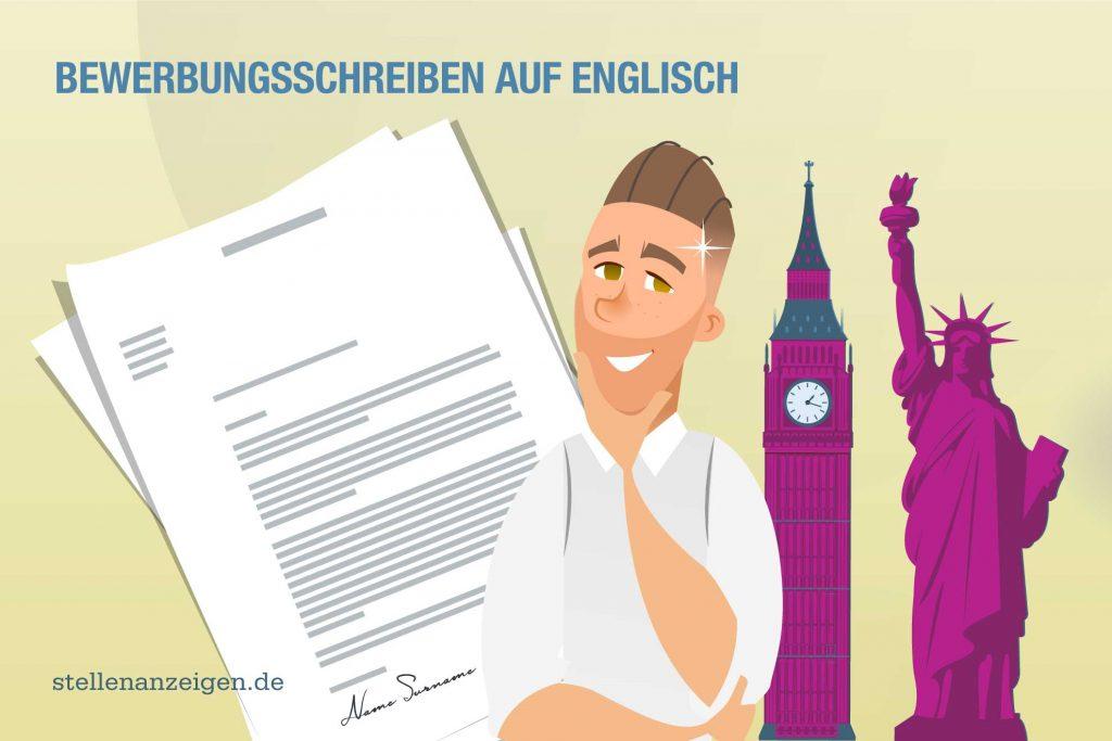 Bewerbungsschreiben auf Englisch