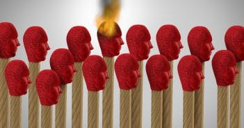 Wenn das Burnout-Syndrom eine Person erwischt