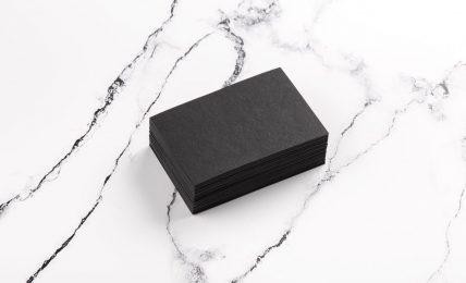 Business Cards - sie können auch schwarz sein
