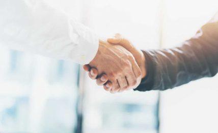 Handschlag - der erste Eindruck