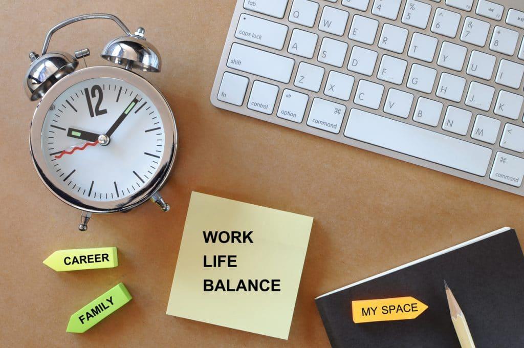 Ein guter Arbeitgeber bietet eine gute Work life balance