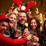 Weihnachtsfeier mit Kollegen