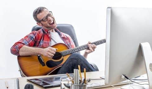 Musik am Arbeitsplatz