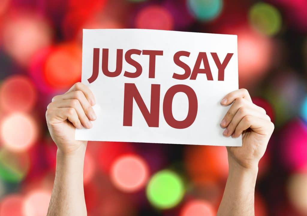 Einfach Nein sagen
