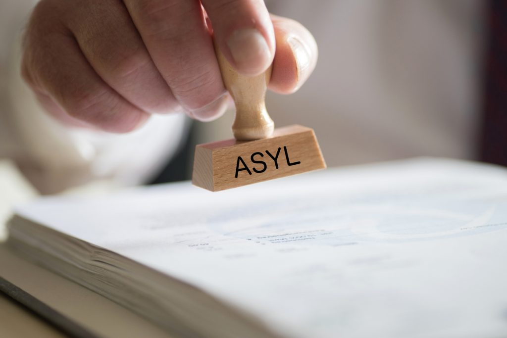 Stempel Asyl