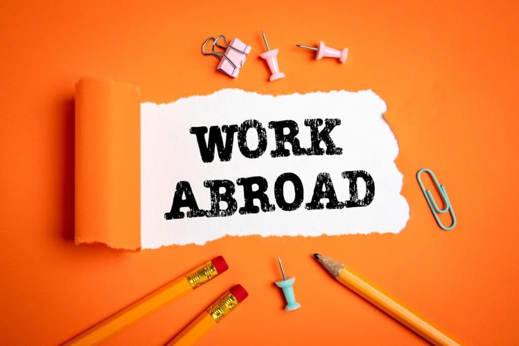 Im Ausland arbeiten