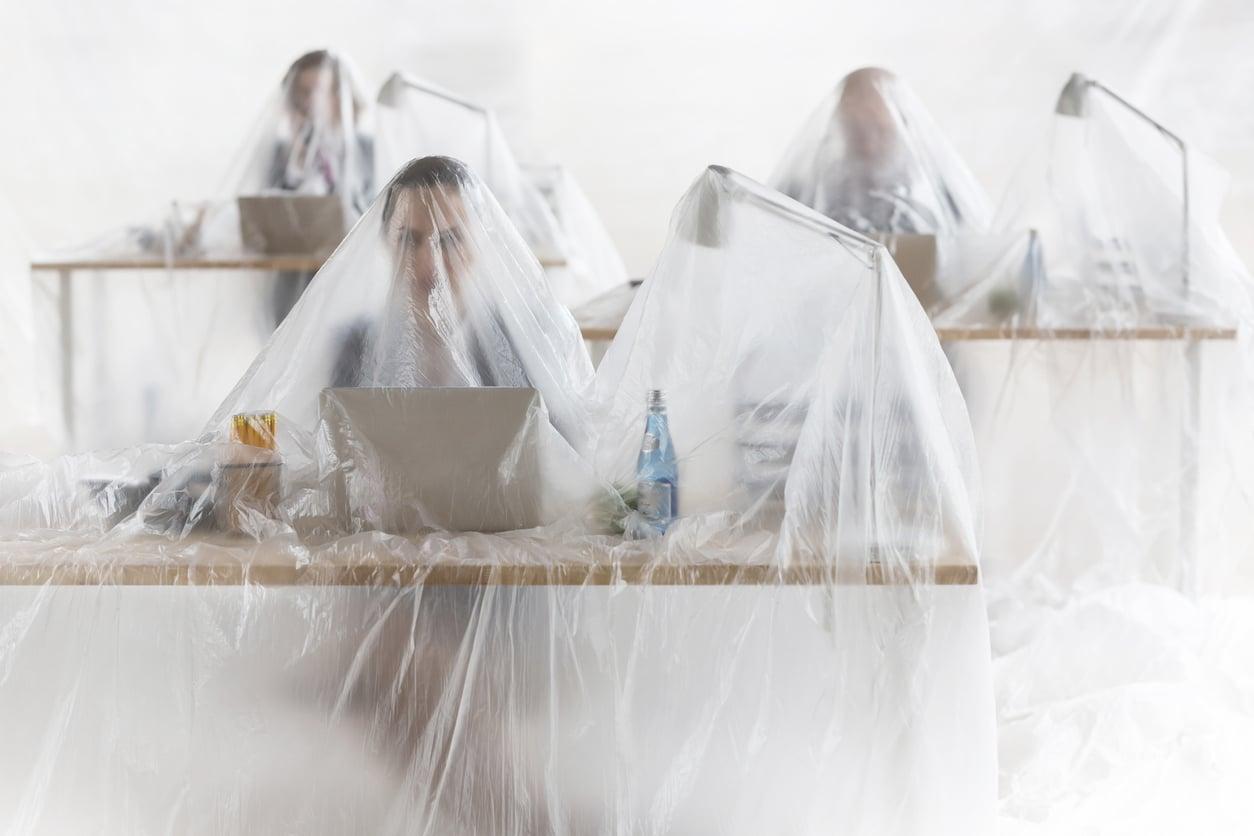 Plastik vermeiden im Büro