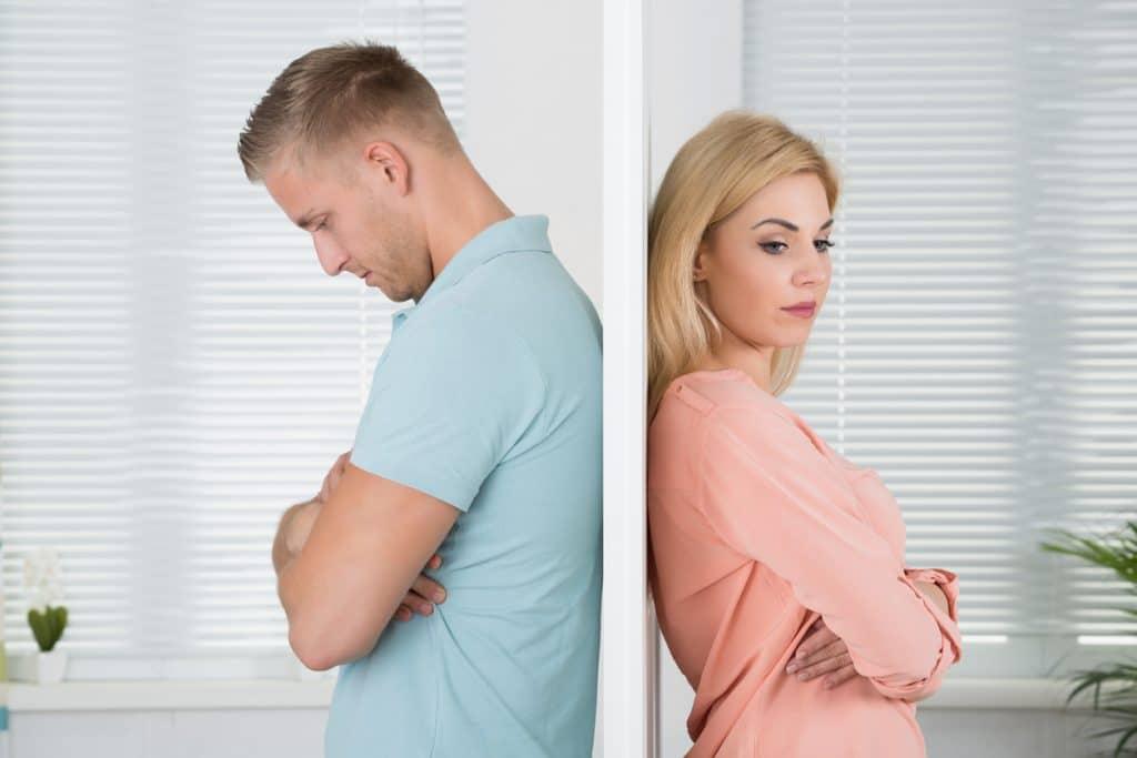 Fehlende Kommunikation in der Beziehung