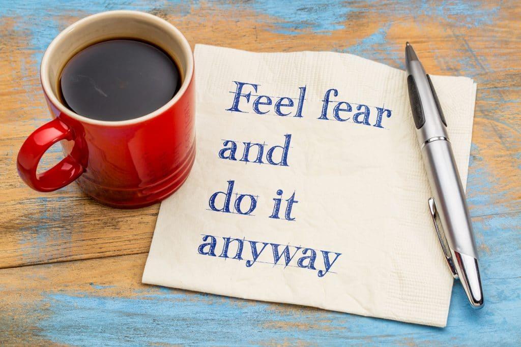 Angst besiegen und mutig sein