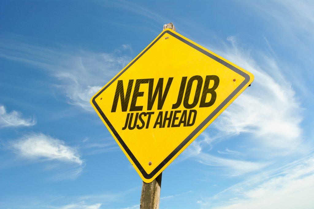 Neuer Job voraus
