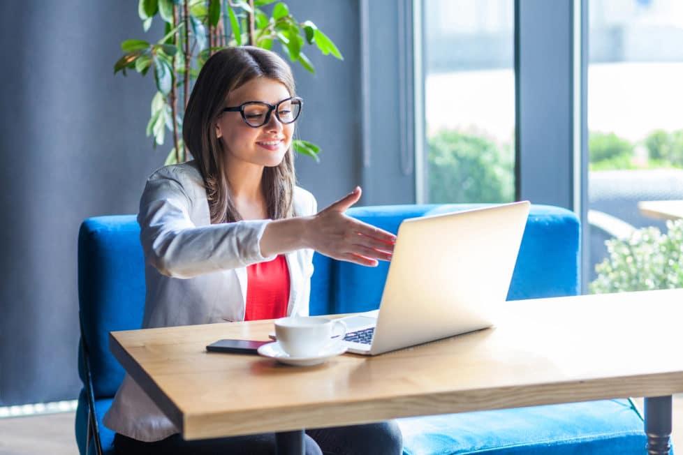 Online-Bewerbung Online Vorstellungsgespräch