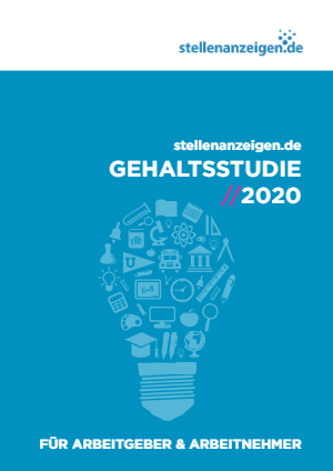 Titelbild der Gehaltsstudie 2020