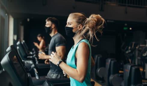 Fitnessstudios geöffnet